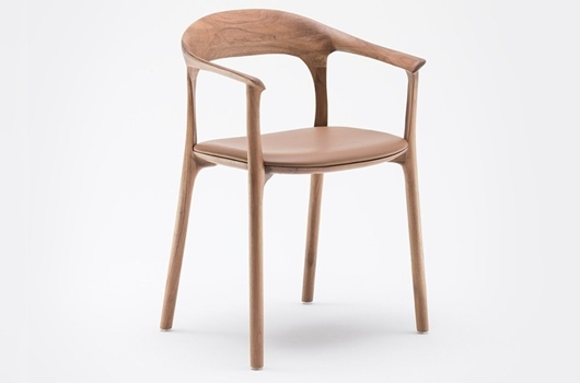 Solid Wood Armchair